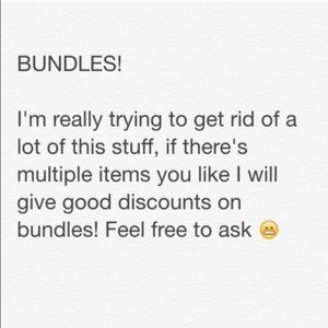 Other - BUNDLES!!!!!⚡️